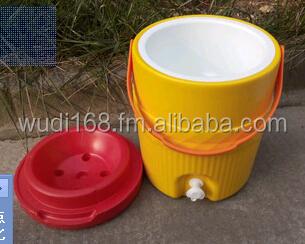 thermosflaschen k hler krug wasserkrug mit 2 armaturen 3 liter 5 gallonen kunststoff k hlbox mit. Black Bedroom Furniture Sets. Home Design Ideas