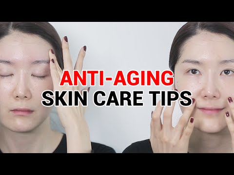 Anti-aging Face Massage & Anti-aging Skin Care Tips