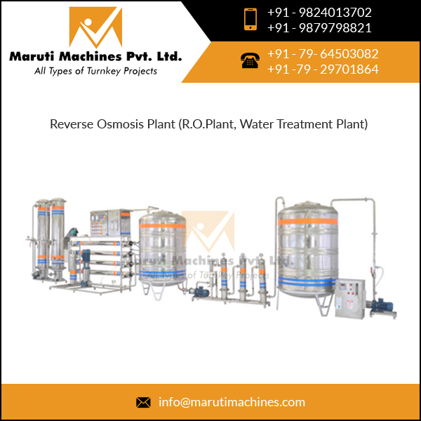 Reverse Osmosis Pure Water Plant for Cosmetic Water