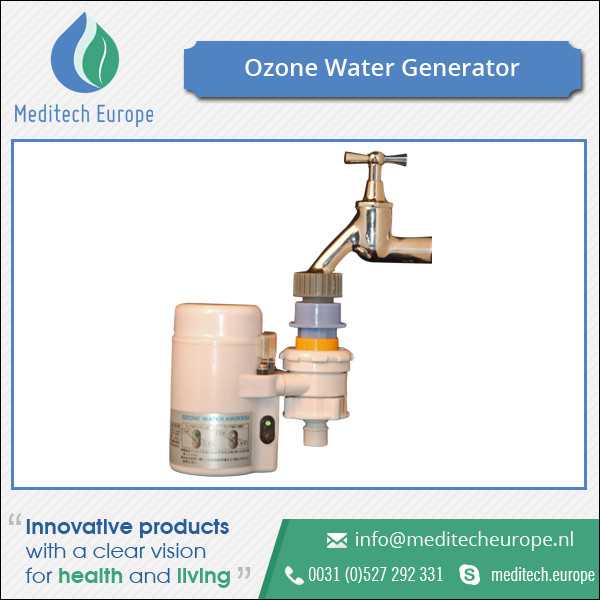 Ozone Water Generator AW 2000W for Disinfection of Drinking Water for Motorhomes & Boats