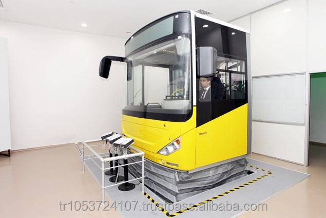 Real Moton Bus Driving Training Simulator (high Quality - Real Bus  Equipments) - Buy Bus Simulator,Car Driving Simulator,Portable Driving  Simulator