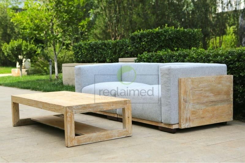 Sof del sal n veneto de recuperada madera de pino otros - Muebles en madera de pino ...