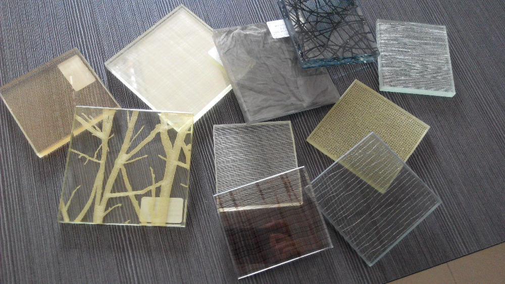 Wire Laminated Sandwich Glass With Mesh Inside - Buy Sandwich Glass ...