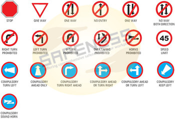 Traffic Safety Signs Sql-sgn-as-tss-008 Safeness Quotient Limited ...