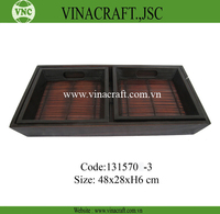 Vietnam wood serving tray