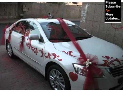 Elegant Wedding Car Decoration | Decor Pictures Ideas For Vehicle