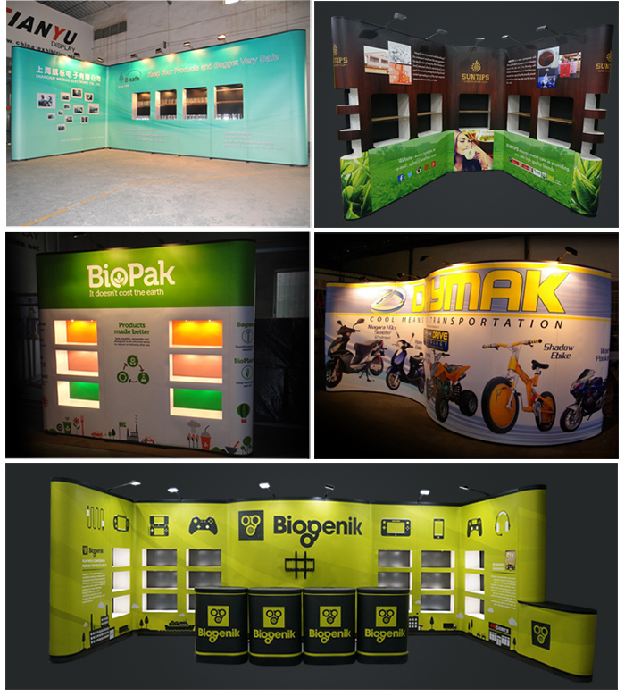 Standard PVC Pop Up Exhibition Stands