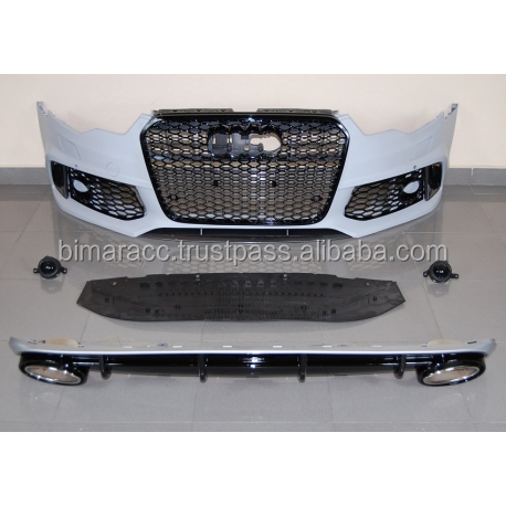 Front bumper for audi A6 C7 2011-2015 look RS6