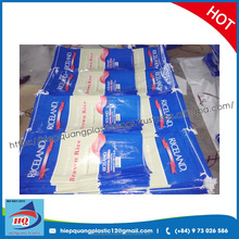 Factory White woven bag rolls / fabric roll / PP woven tubular fabric for woven bag Viet Nam