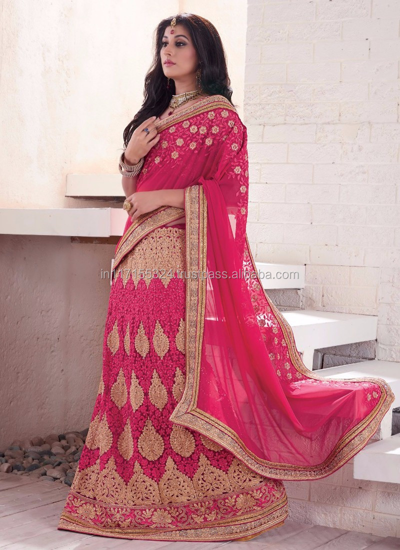 65e3f57536 Ethnic wear design wedding lehenga saree - New style lehenga saree online  shopping - Designer lehenga style saree