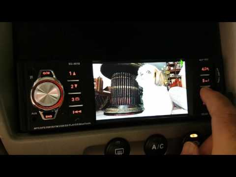 MP5 4018 4.1inch Bluetooth Car MP3 MP4 MP5 Player