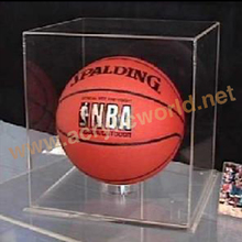 Waterproof Display Box/Basketball Box Holder/Retail Acrylic Box Holder For Basketball