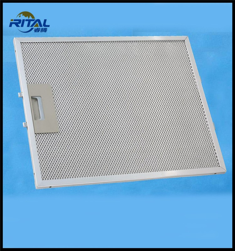 Aluminum Kitchen Appliance Parts Of Chimney Cooker Hood Filter ...