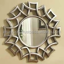 butterfly design wall large mirror
