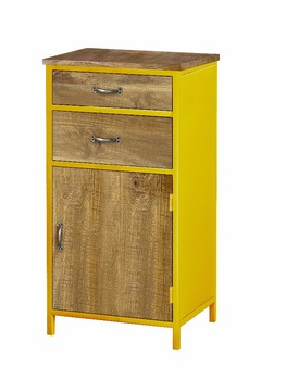 Two Drawer & One Door Storage Cabinet - Buy Tall Thin Storage ...