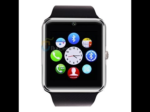 Buyee GT08 Bluetooth Smart Watch for Samsung iphone HTC Android Phone with Camera SIM