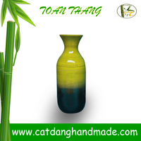 Vietnam handicrafted very nice bamboo decor vase