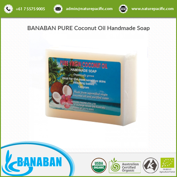 BANABAN Pure Coconut Oil Handmade Soap