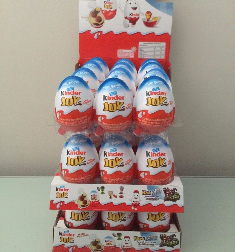 Kinder Joy Surprise Chocolate Egg 72x20g