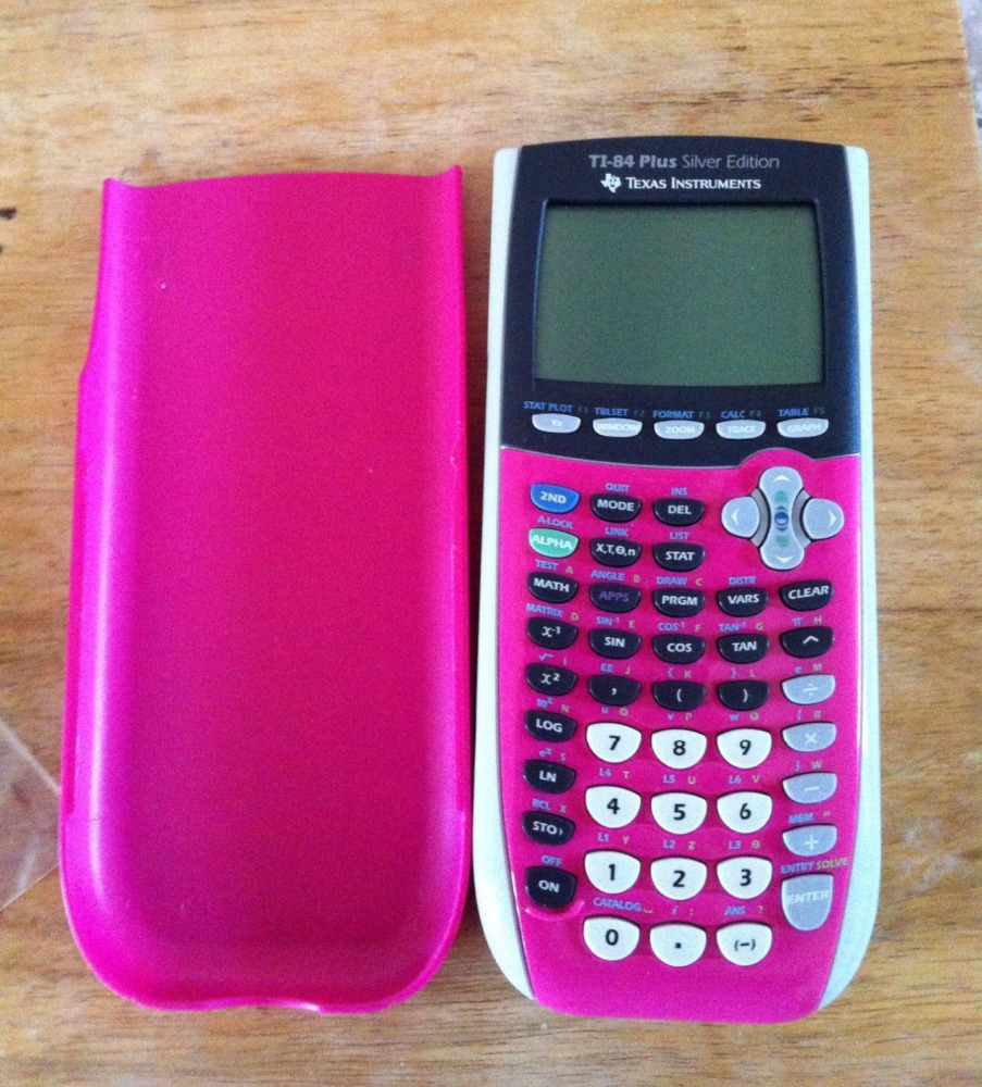 Texas Instruments Ti-84 Plus Silver Edition Graphing Calculator  (pink)(packing May Vary) - Buy Calculators Product on Alibaba com