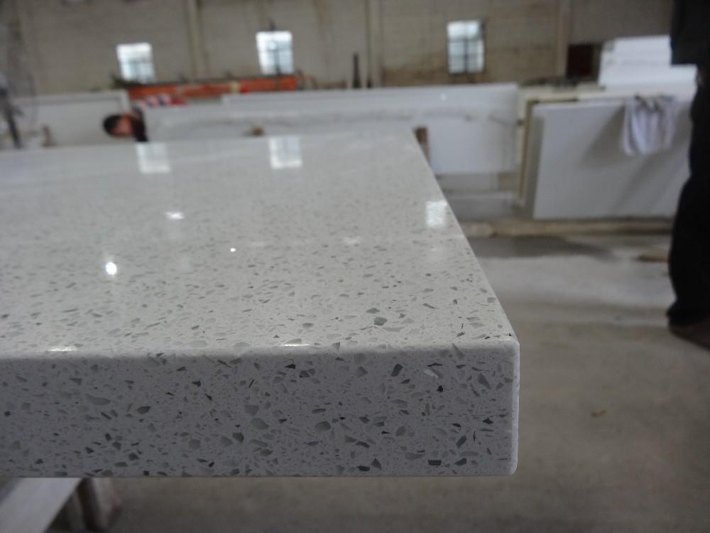 Sparkling White Quartz Price Kitchen Countertop Crystal