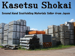 Durable and Reliable hardware items used in construction Used Scaffold Frames and Brasings Set made in Japan