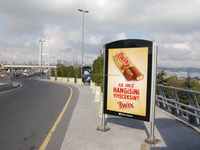 MUPI & LED Lightboxes Outdoor Advertisement
