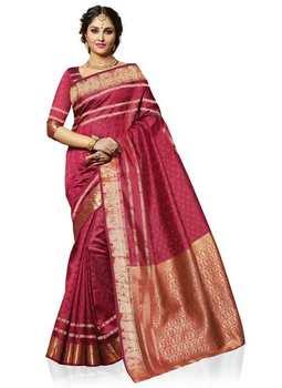 Meghdoot Woven Art Tussar Silk Saree/sari Maroon Colour Wholesale - Buy Art  Tussar Silk,Soft Silk Sarees,Traditional Silk Sarees Product on