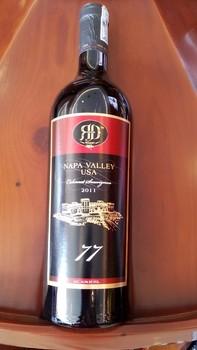 Kết quả hình ảnh cho napa valley 77 cabernet sauvignon
