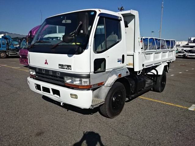 1996 Mitsubishi Fuso Fighter Mignon / Kc-fh217cd / 4ton Dump ...