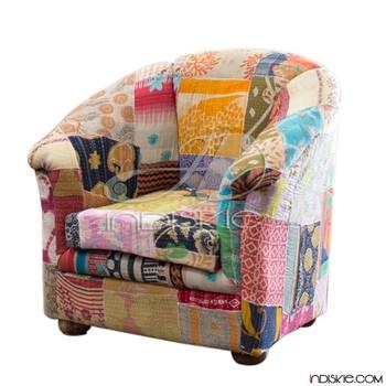 Vintage Fabrics Sofa Handmade Sofas Chair Home Furnishings Fabric Chesterfield