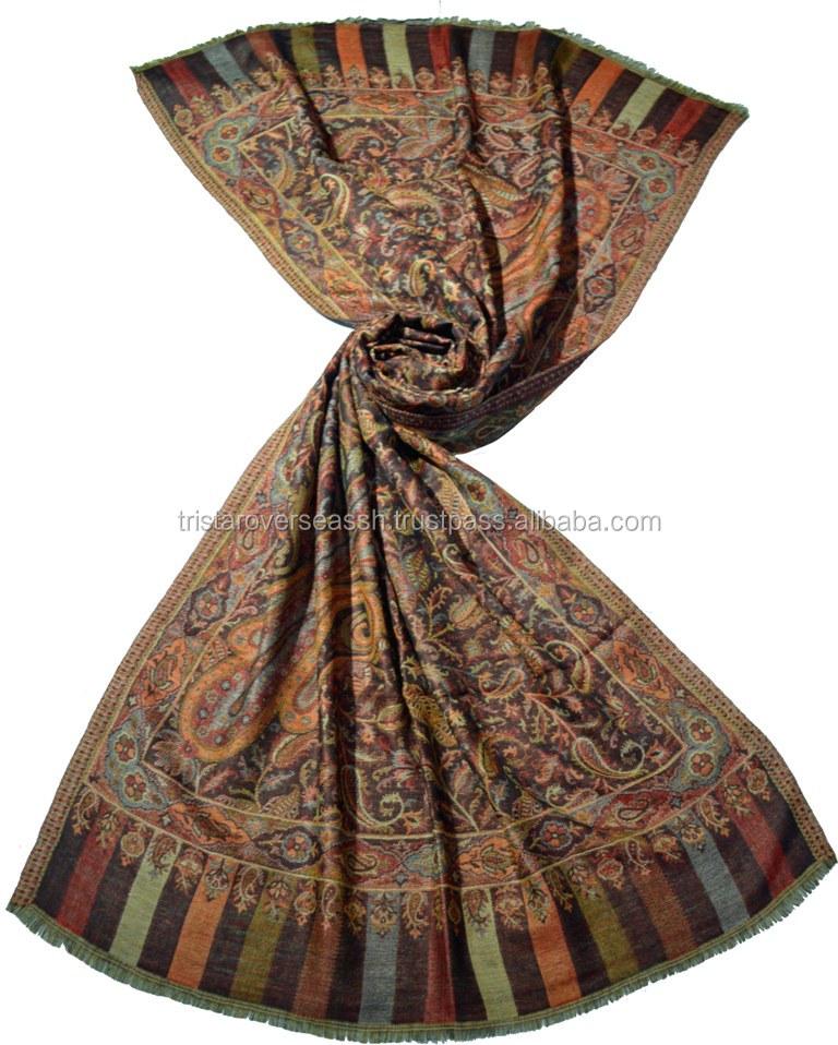 ddd2b07b24d93 Original Kashmiri design cashmere shawl pure pashmina shawls in India
