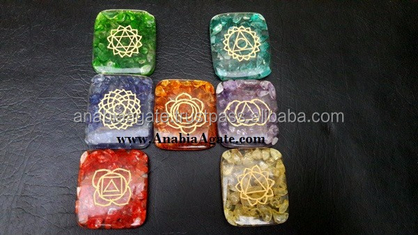Chakra set with velvet purse Wholesaler Manufacturer