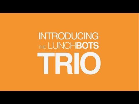 LunchBots Trio Demonstration - 3 Compartment Stainless Steel Lunch Container - Plastic-Free