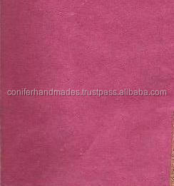 custom pink coloured mulberry handmade papers in 100 gsm quality with a sheet size of 56*76 cm for scrapbooking, journal makers,