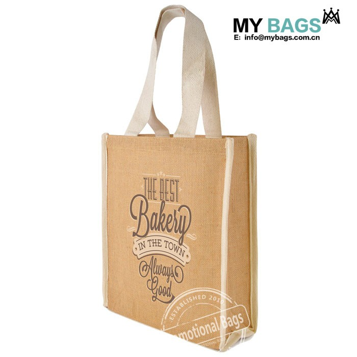 Customized Hand Woven Women s Jute Totes and Shoppers Bags with logo print 8471ffa569