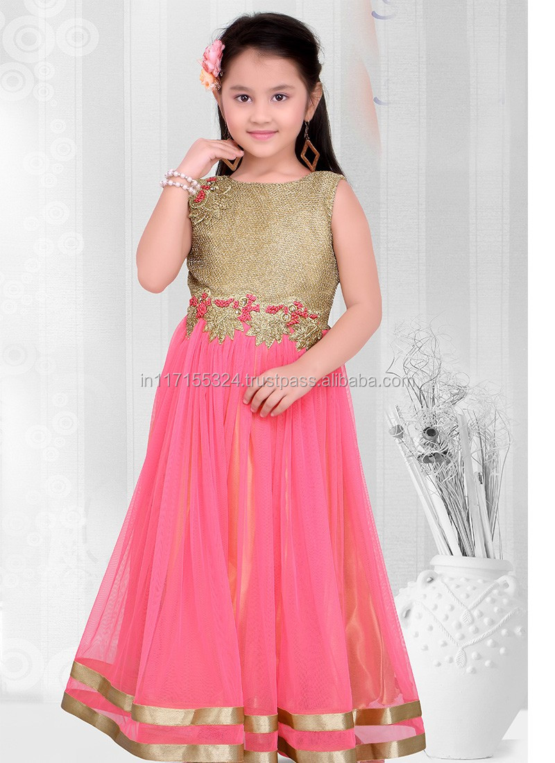2016 New Design Kids Dress Kids Anarkali Dress Designs Party Wear ...