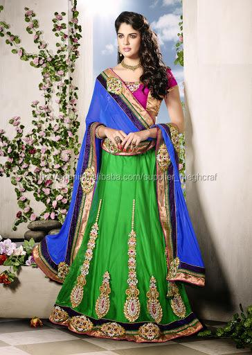 Vestidos de fiesta de la india