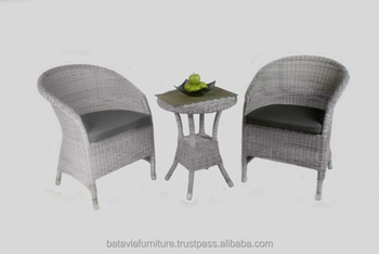 Synthetic Rattan Outdoor Garden Living Furniture Set Brooklyn Balcony