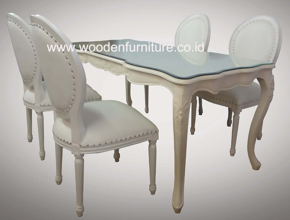 French Style Dining Chair Clic Room Furniture Antique Reproduction Set European Home
