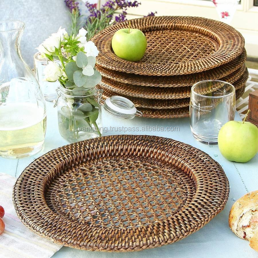 Hop Selling Cheap Bamboo Rattan Charger Plate - Buy Charger PlateHot Sales Charger PlatePlastic Charger Plate Product on Alibaba.com & Hop Selling Cheap Bamboo Rattan Charger Plate - Buy Charger Plate ...