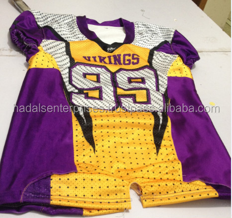 Custom sublimated american football uniforms / Youth american football uniforms / Adults american football uniforms