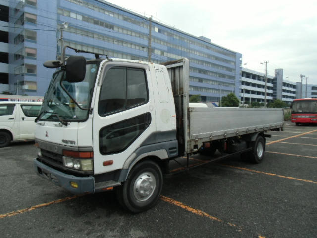 1993 Mitsubishi Fuso Fighter 4 Tons Flabed Truck Yk23111/u-fk617j ...