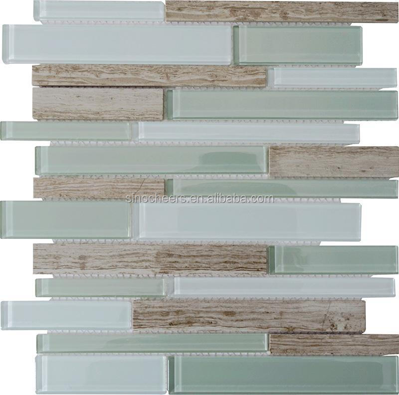 Natural Stone Gl Mosaic Tiles For Bathroom And Kitchen Frosted Tile Backsplash Grand Canyon Interlocking