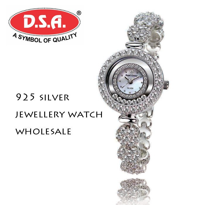 925 silver watch wholesale woman jewellery watch 2015 new arrive