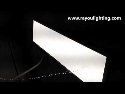 ip65 led panel light waterproof testing from rayou lighting