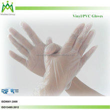 Health And Medical Vinyl Gloves Disposable Latex Exam Gloves