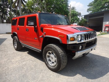 Hummer H2 In Right Hand Drive Conversion