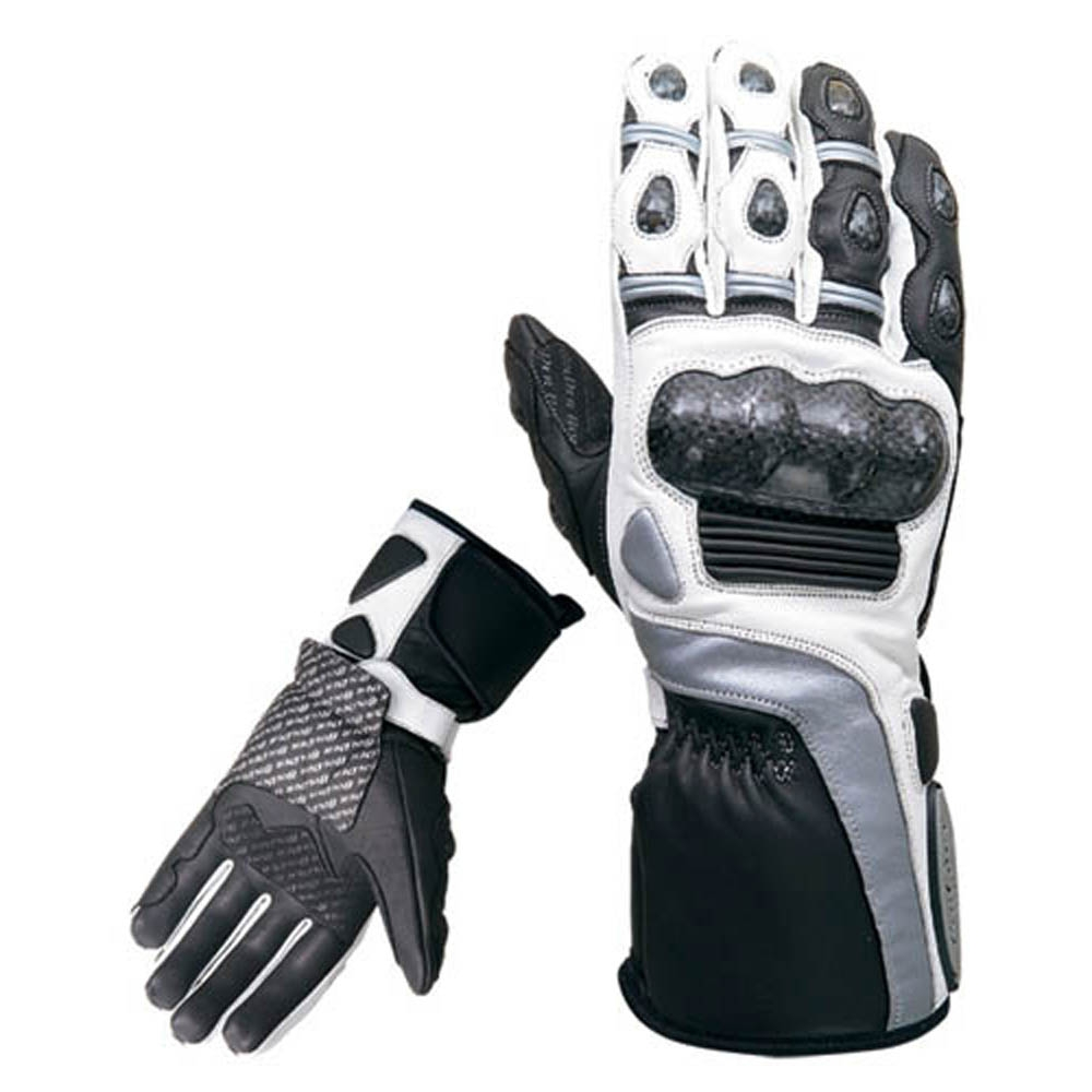 Motorcycle gloves for summer -  Leather Racing Gloves Gloves
