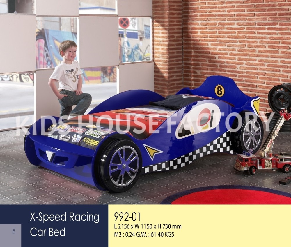 racing race bed size bedding itm beds furniture single children kids bedroom car